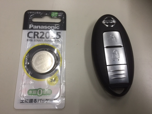 ボタン電池 CR2025