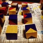 【子供のおもちゃをDIY】木のパズルを作ろう! 第二回 キューブの色塗り