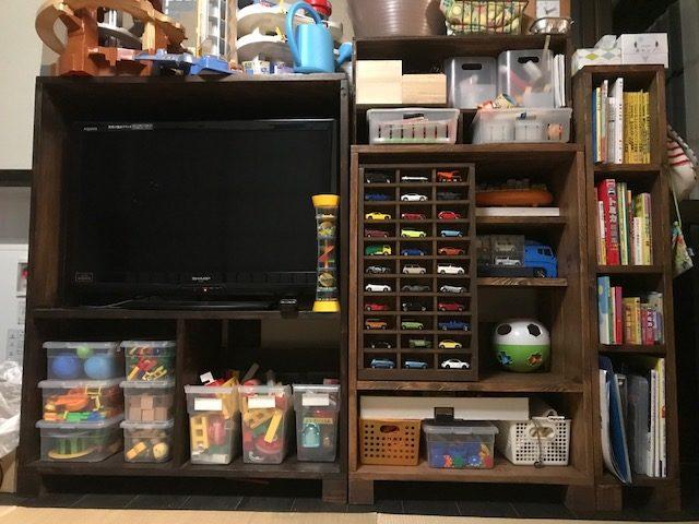DIYで作った棚