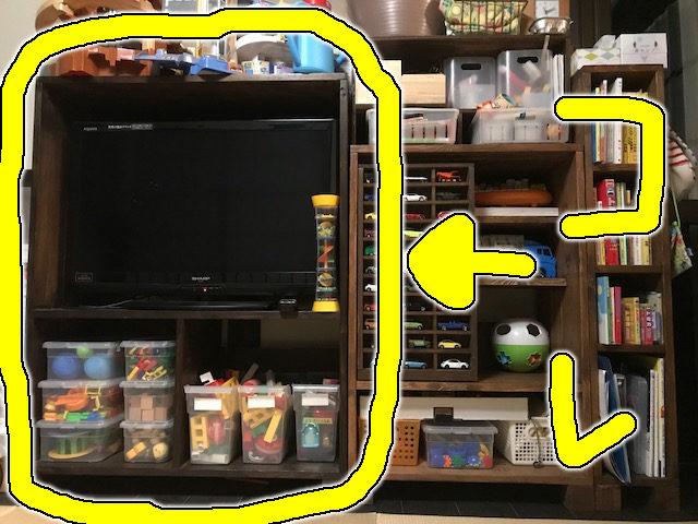 TV台を作った