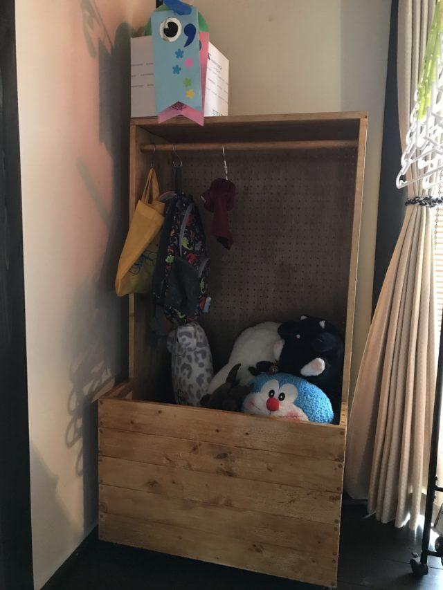 子供用の棚 お片付けボックス