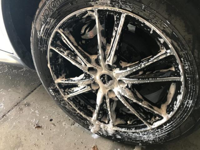 洗車の時間を時短