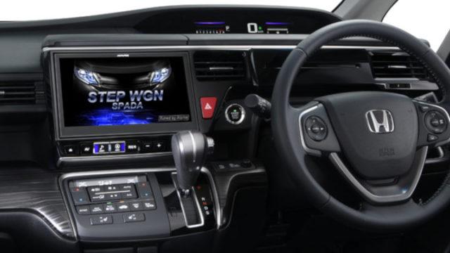 ステップワゴン専用10インチカーナビ