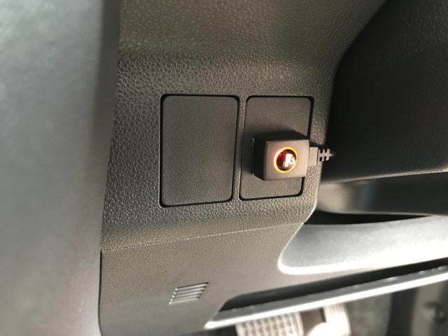 スイッチの貼り付け