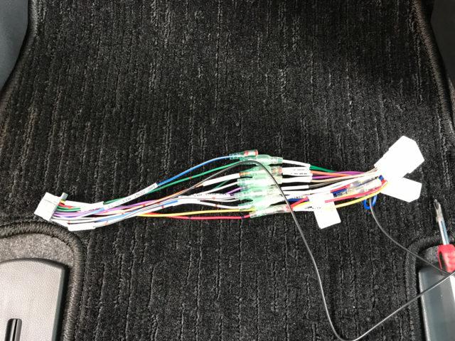 電源配線の接続